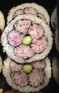 Das Auge isst mit: Blüten-Maki