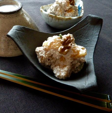 Kaki no Shira-ae: Kakis in Tofu-Sauce