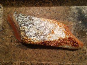 Miso konserviert den Lachs mehrere Tage bis er in wenigen Minuten fertig gegart wird.