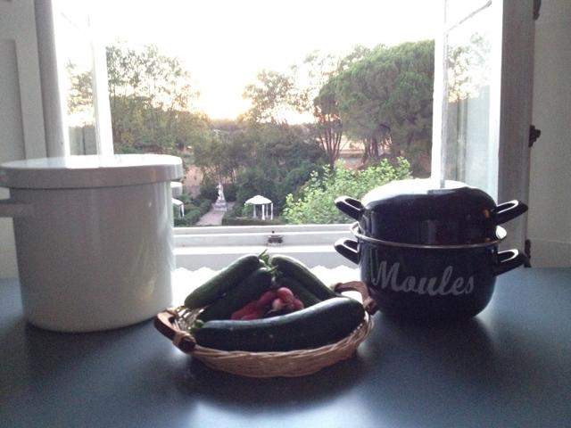 Nuka-zuké in der Ferien-Küche in Südfrankreich