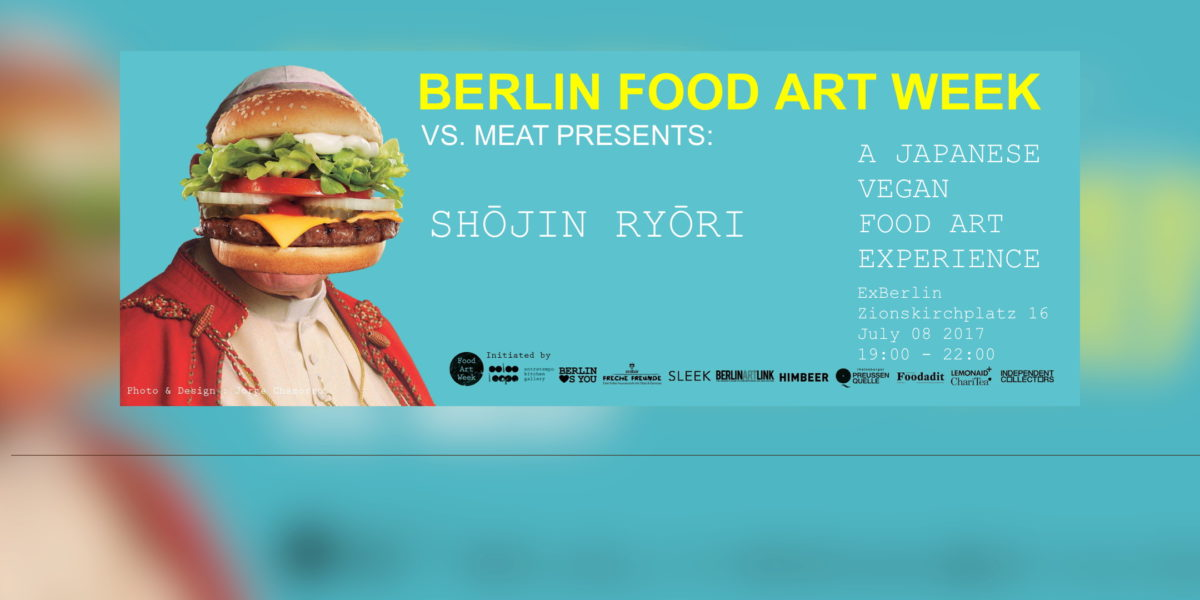 Shōjin Ryōri @ Berlin Food Art Week: A Japanese Vegan Food Art Experience