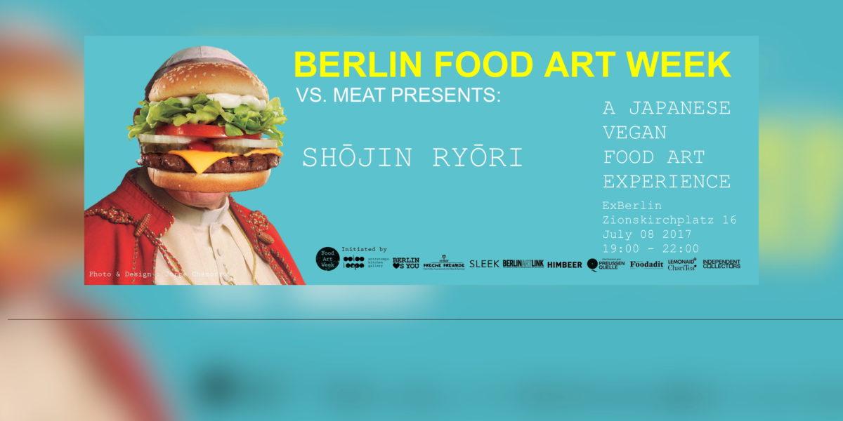 Shōjin Ryōri @ Berlin Food Art Week: Vegane Kunst auf dem Teller