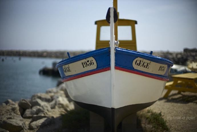 Urlaubsfeeling am Hafen in Gruissan