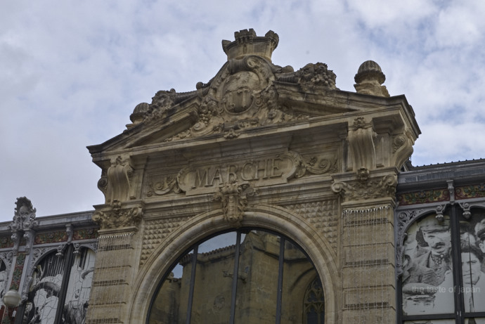 Impressive Entrance to the Narbonne market