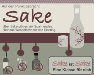 Kostenlose Sake Infographik. Kostenloser Download unter www.tonbo.de/wissensDURST