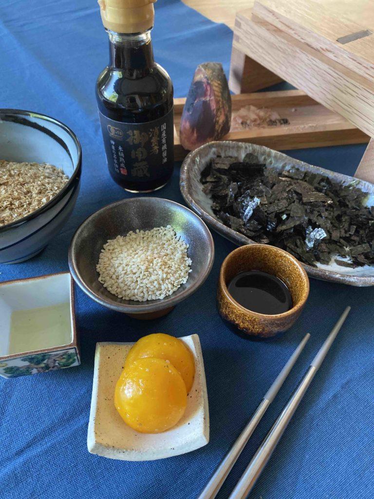 Zutaten für Noritama Furikake