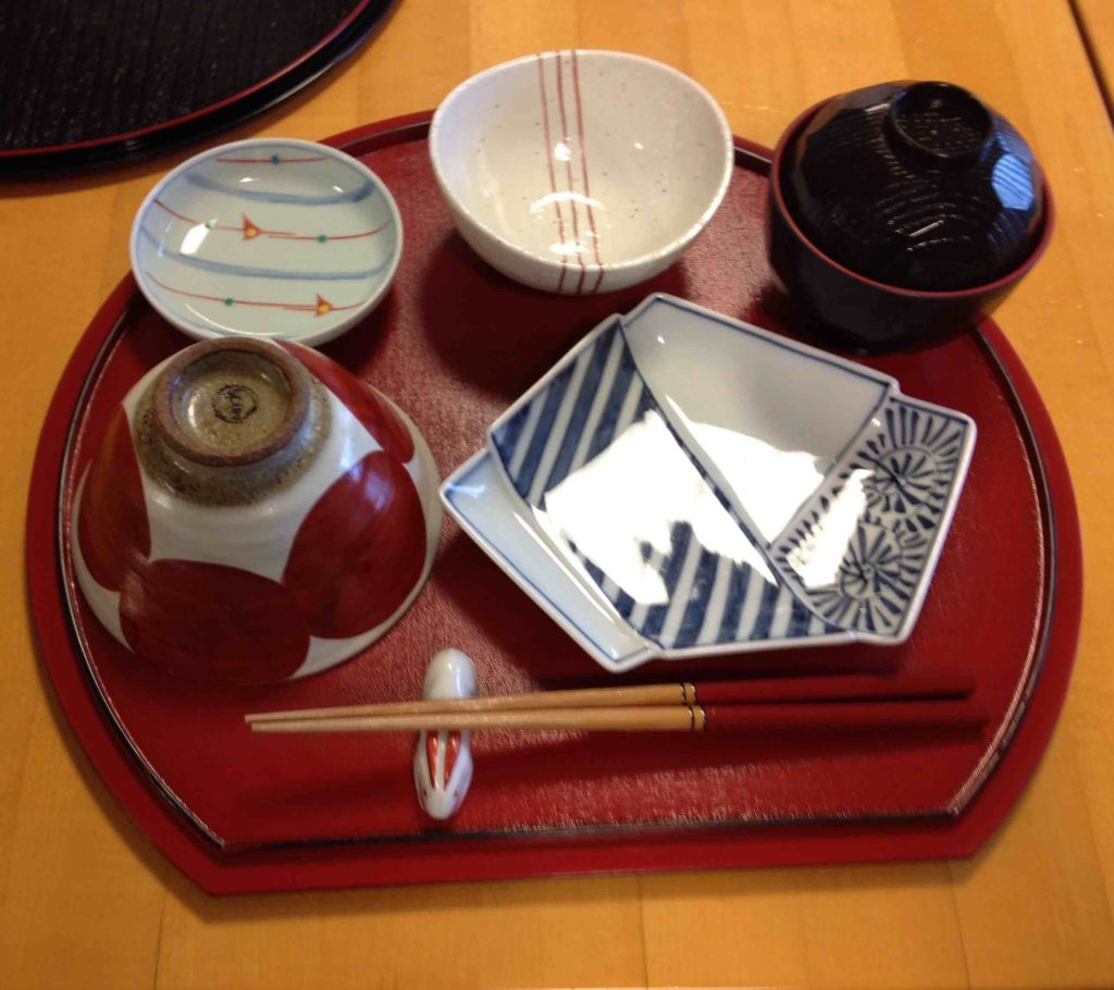 Japanese Pottery to be filled with food